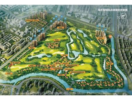 恒大棕榈岛整体规划图