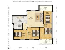 园岭新村二手房出售园满五唯一4室1厅1卫